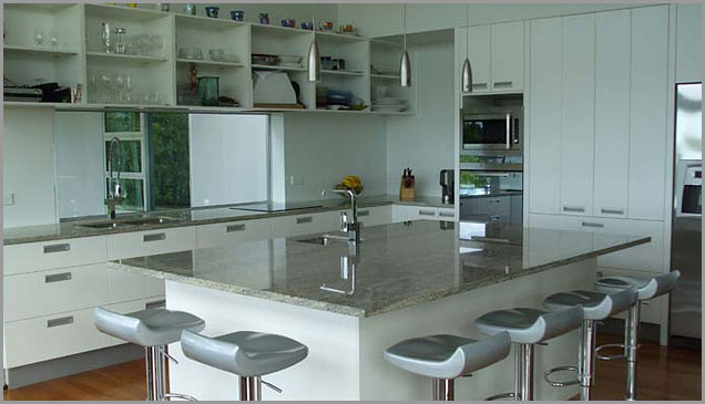 Kashmir White Granite counter top